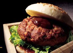 松阪牛ハンバーグステーキバーガー