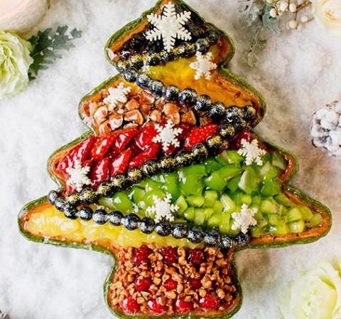 キルフェボンクリスマスツリータルト
