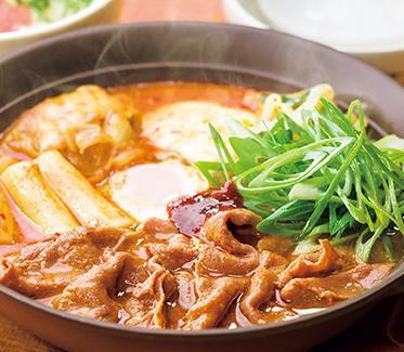 ガスト冬鍋牛肉の特製本格辛口チゲ