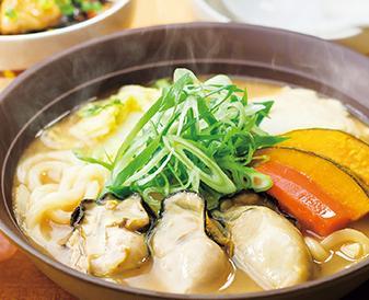 ガスト冬鍋広島産牡蠣の味噌ちゃんこ鍋