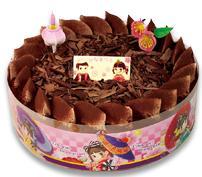 不二家ひなまつりチョコ生ケーキ