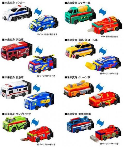 マクドナルドのハッピーセット8種類のおもちゃ2015年2月13日