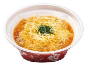 なか卯「4種チーズの親子丼(お持ち帰り)」2018年8月2日