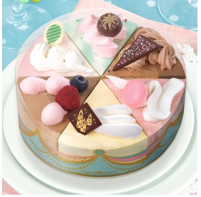 サーティーワンのアイスケーキ「パレット6パーティー」2017年