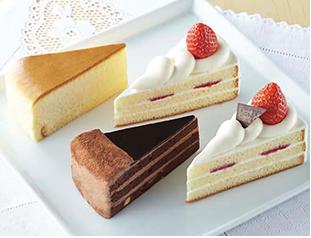 ローソンの母の日ショートケーキ詰め合わせ
