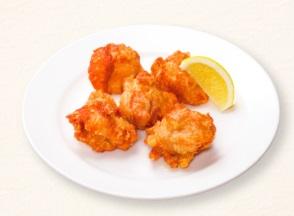 ガストのモーニング「若鶏の唐揚げ(5コ)」