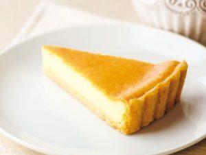 ガストのモーニング「ベイクドチーズケーキ」