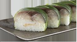 スシロー とろ鯖押し寿司