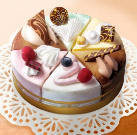 サーティーワン、アイスケーキ「パレット6」