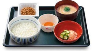 なか卵「朝まぜごはん納豆定食」