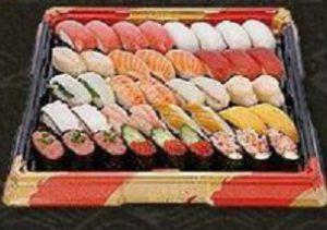はま寿司のお持ち帰り、「定番セット4人前」