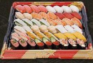 はま寿司のお持ち帰り、「定番セット5人前」