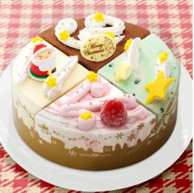 サーティーワン アイスケーキ クリスマスパレット4