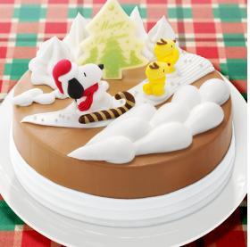 サーティーワン クリスマスアイスケーキ2015 スヌーピーとウッドストックのクリスマスフライト
