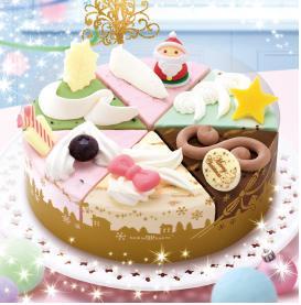 サーティーワン アイスケーキ クリスマスパレット6
