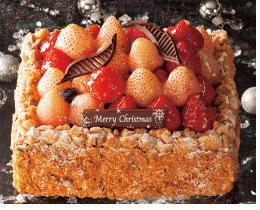 シャトレーゼ 会員限定スペシャルケーキ 淡雪苺とあまおうのミルフィーユ