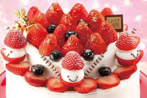 ローソンのクリスマスケーキ スペシャルストロベリークリスマス6号