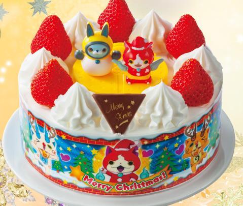 セブンイレブン クリスマスケーキ 妖怪ウォッチ2015