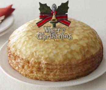 サークルKのクリスマスケーキ ミルクレープ6号