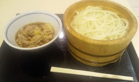 丸亀製麺毎月1日半額の肉汁セット