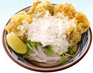 丸亀製麺、「タル鶏天ぶっかけ」