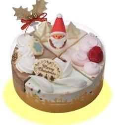 サーティーワン、クリスマスケーキ2016クリスマスパレット4