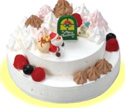 サーティーワン、クリスマスケーキ2016わくわくホワイトクリスマス
