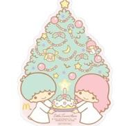 マクドナルドのハッピーセット12月3日4日キキララの週末プレゼントシール