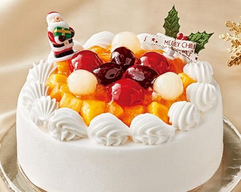 セブンイレブンのクリスマスケーキ2016「米粉と豆乳クリームのケーキ 5号」