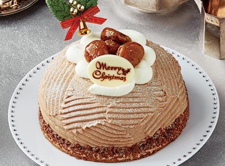 セブンイレブンのクリスマスケーキ2016「イタリア栗のクリスマスモンブラン」