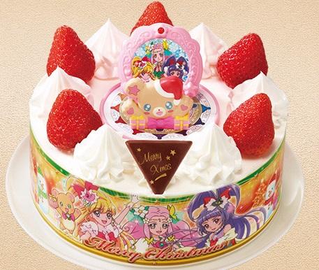 セブンイレブンのクリスマスケーキ2016「ヤマザキ キャラデコクリスマス 魔法つかいプリキュア! 5号」