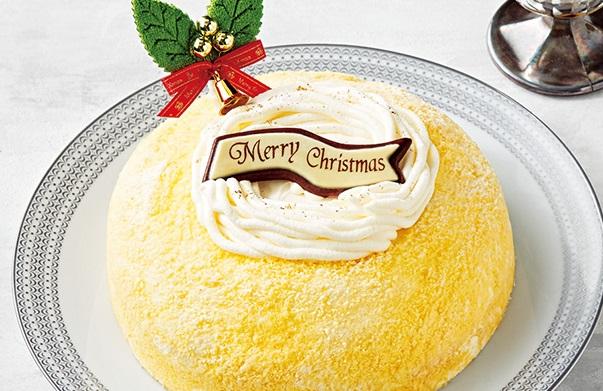 セブンイレブンのクリスマスケーキ2016「北海道産チーズの2層のチーズケーキ(5号相当)」
