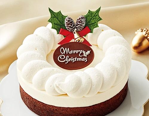 セブンイレブンのクリスマスケーキ2016「ダブルショコラ 4号」
