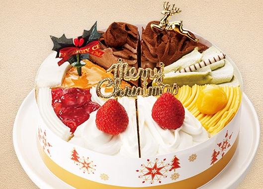 セブンイレブンのクリスマスケーキ2016「ヤマザキ クリスマスショートケーキ詰合せ」