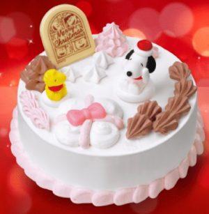 「'スヌーピー' わくわくホームパーティー」サーティーワンのクリスマスケーキ2017
