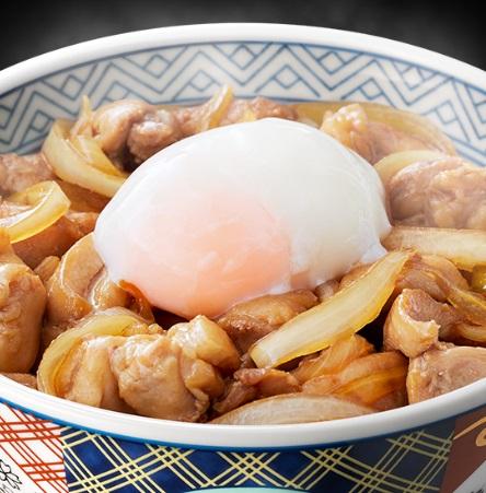 吉野家の鶏すき丼