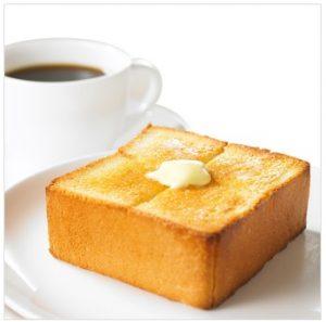 上島珈琲店モーニング「厚切りバタートースト」