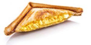 サンマルクの日替わりパンモーニング「火曜日トーストサンド(たっぷりタマゴ)」
