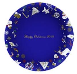 ケンタッキーのクリスマス「クリスマス絵皿」