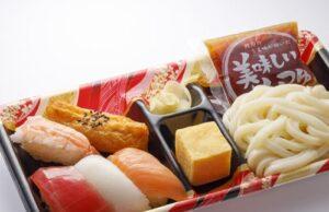 はま寿司「寿司うどん弁当5巻」2021年9月