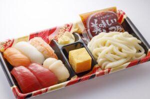 はま寿司「寿司うどん弁当6巻」2021年9月