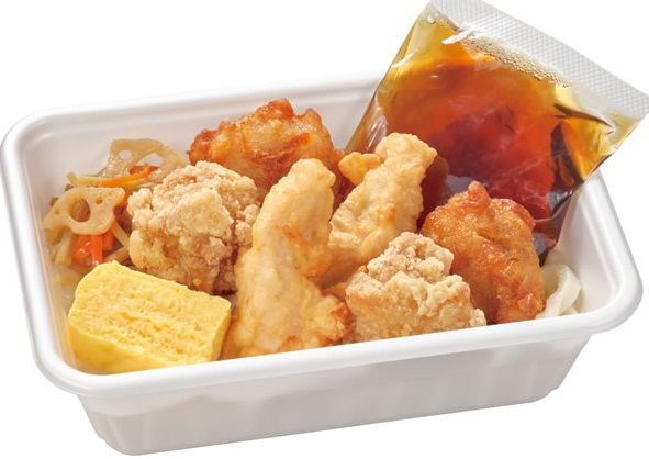 なか卯の「うどん弁当・鶏三昧うどん弁当」2021年9月
