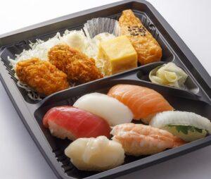 はま寿司「カキフライ寿司弁当」2021年9月